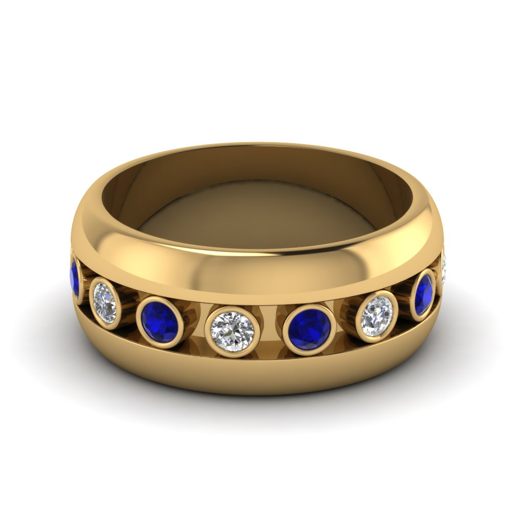 Blue Wedding Bands