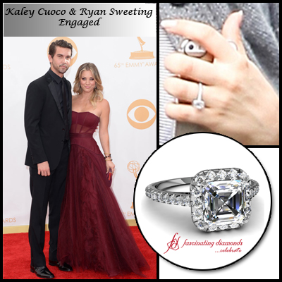 U201cHeu0027s The Oneu201d Confirms Kaley Cuoco After Getting Engaged To Beau Ryan  Sweeting   Fascinating Diamonds Blog