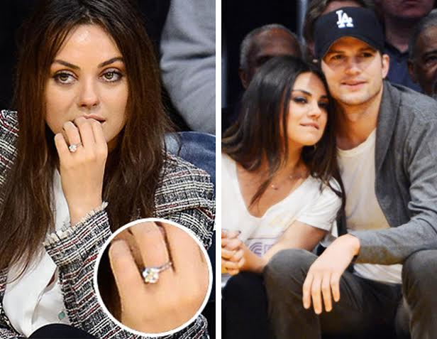 Mila Kunis and Ashton Kutcher Are Engaged Fascinating Diamonds Blog