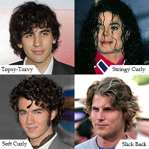 Curly & Funky Hairstyles for Men