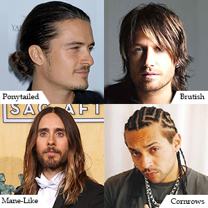 Long & Messy Hairstyles for Men