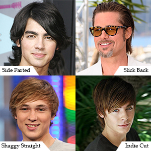 Straight & Sleek Hairstyles for Men