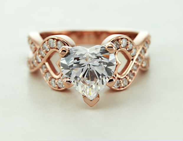 Entwine Heart Ring