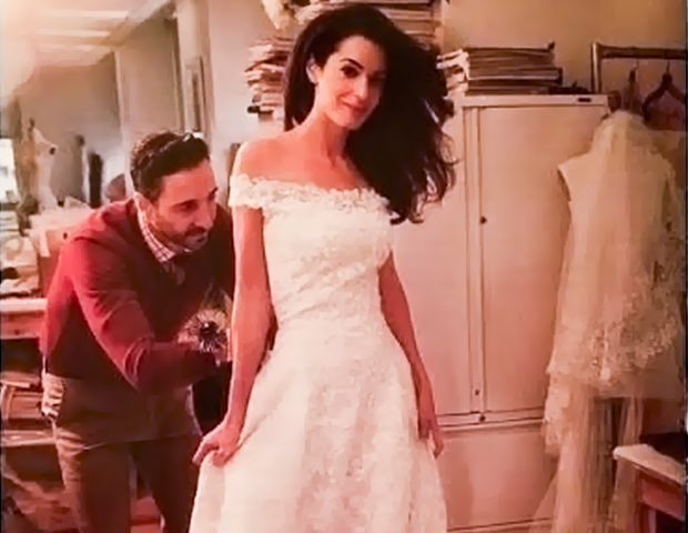 Amal Alamuddins Weekend Wedding Style