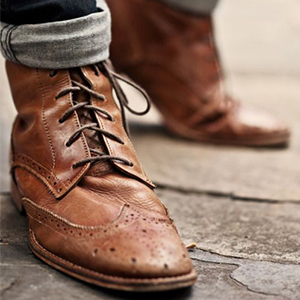 Brogues shoes for winter