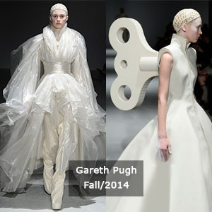 Gareth Pugh's collection from NYFW fall 2014