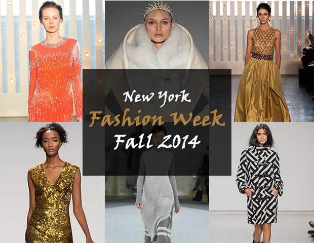 New York fashion week  2014 Fall