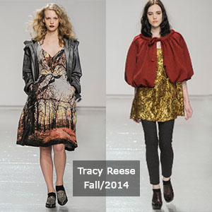 Tracy Reese collection from NYFW fall 2014