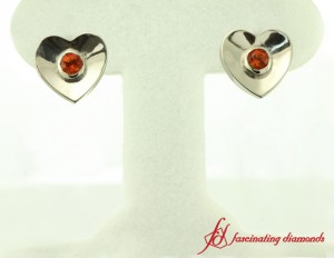 Inexpensive White Gold Stud Earrings For Ladies
