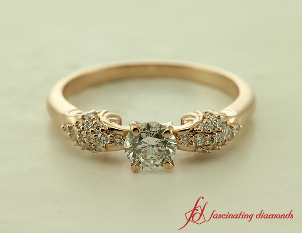 Filigree Cluster Ring