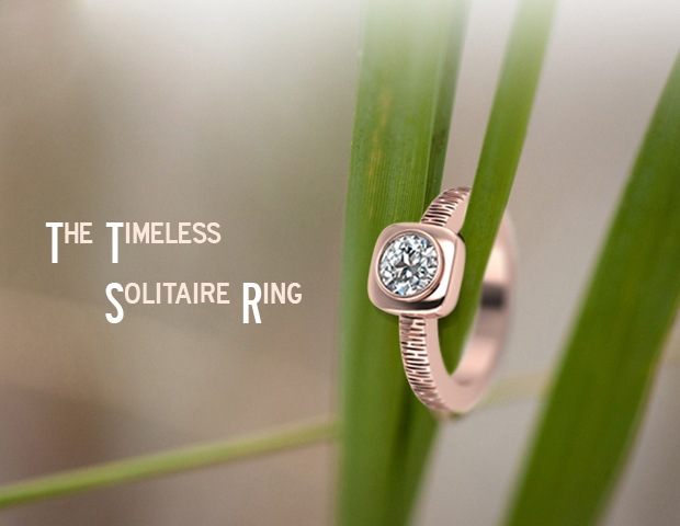 Why A Girl Will Never Say No To A Solitaire Ring