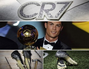 Ronaldo Presented With Diamond Boots By Nike