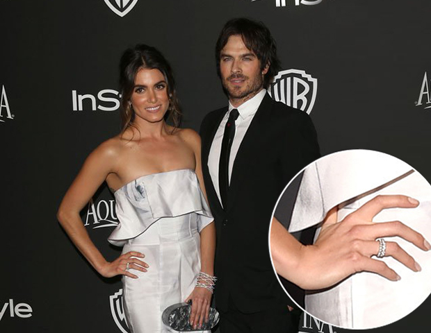 Ian Somerhalder Engaged To Nikki Reed