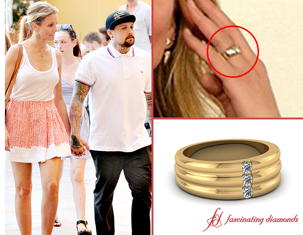 Its Official Cameron Diaz Married To Benji Madden Check Out Her Ring