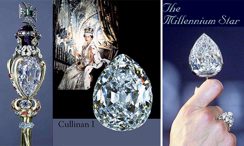 The great star pear shaped diamond