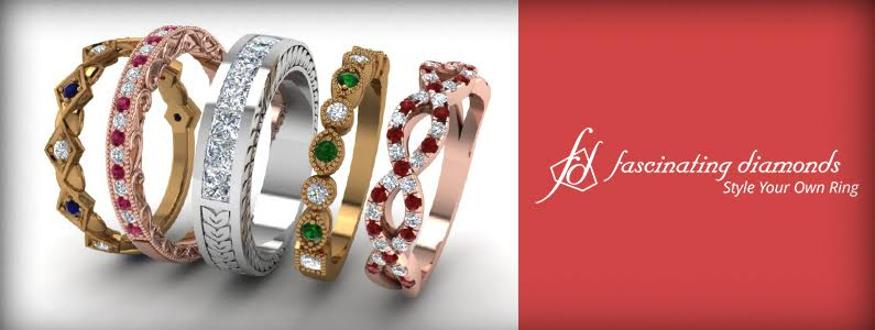 Stackable Rings By Fascinating Diamonds