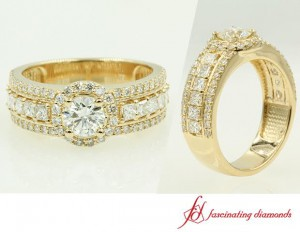 Halo Round Cut Diamond Ring