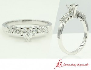 Heart Shaped Diamond Side 