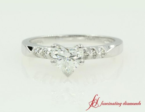 Unique Diamond Engagement Ring For Female
