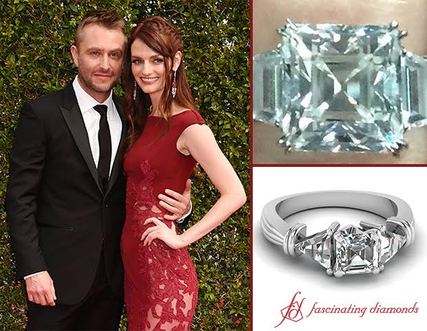 First Pictures Of Lydia Hearst Heirloom Trinity Diamond