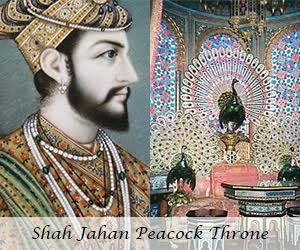 Shah Jahan And The Peacock Throne