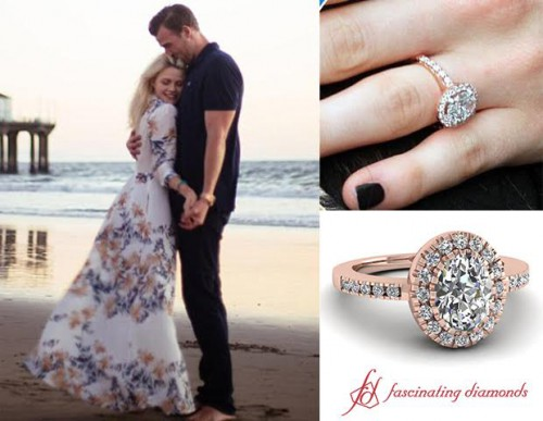 Carson Mcallister And Witney Carson Engaged