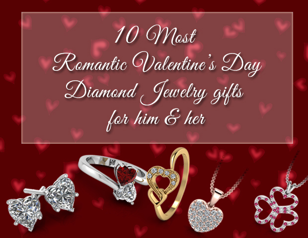 10 most romantic Valentine's Day diamond jewelry gifts for him and her