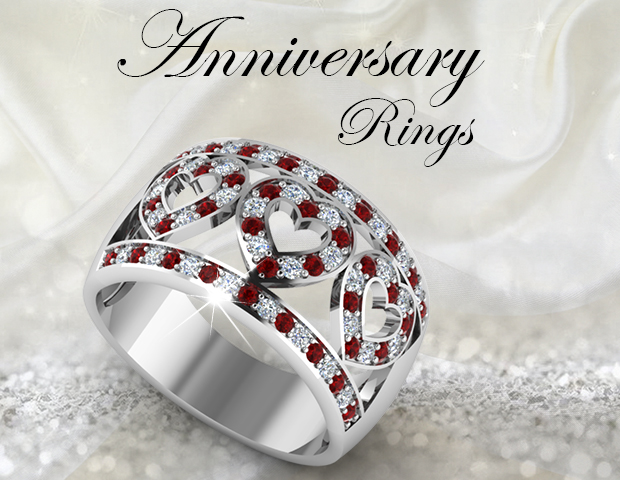 16 Styles Of Anniversary Rings