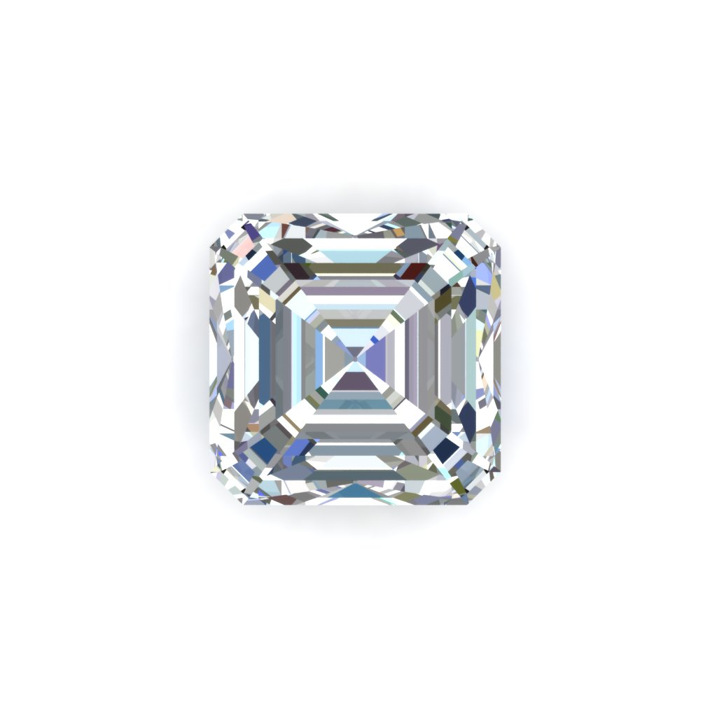 Asscher cut diamonds