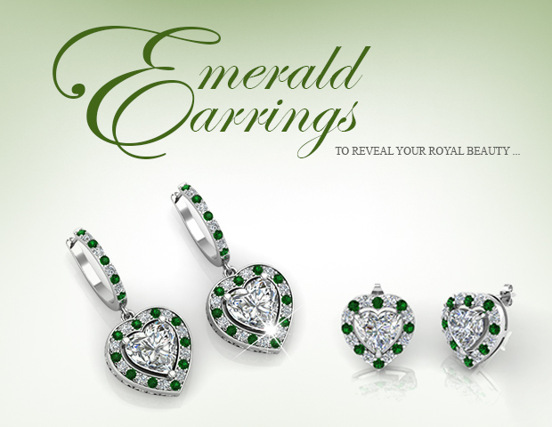 Stunning Emerald Earrings