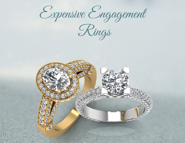 Dream to own expensive engagement rings