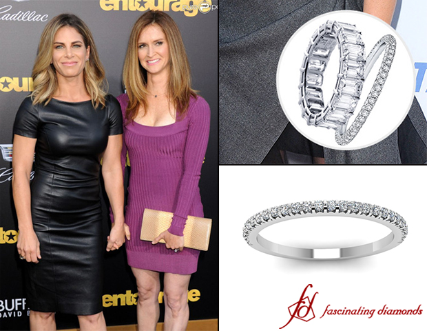 Jillian Michaels Engaged Girlfriend Heidi Rhoades - stunnings engagement ring