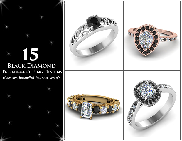 15 Black Diamond Engagement Rings