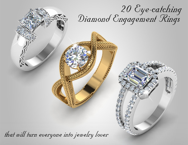 20 Trends Of Diamond Engagement Rings