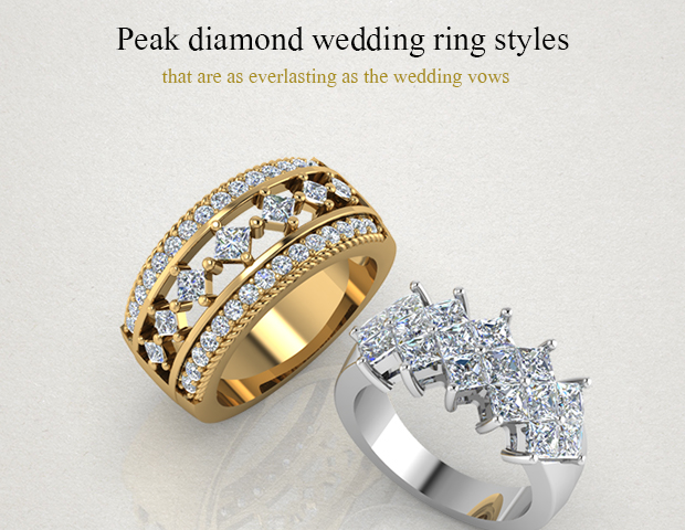 18 Diamond Wedding Rings Styles