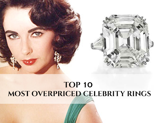 Top 10 Most Overpriced Celebrity Rings That Set High Benchmark In History