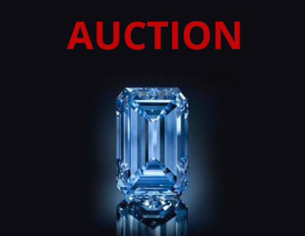 Blue Diamond Auction at Christie's!