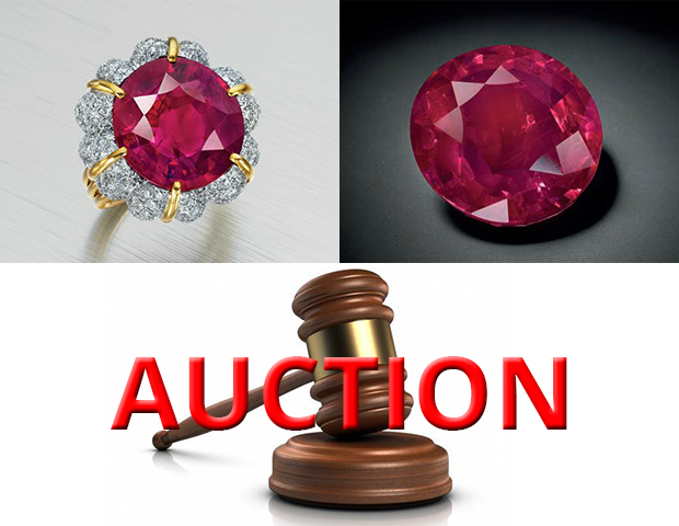 The Christie's Auction of Stunning Burmese Ruby