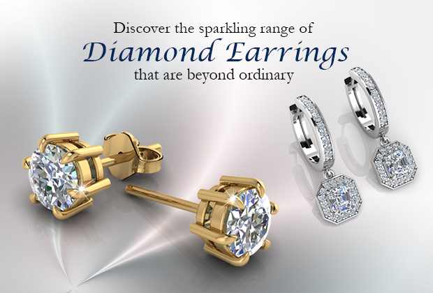 Discover The Sparkling Range Of Diamond Earrings