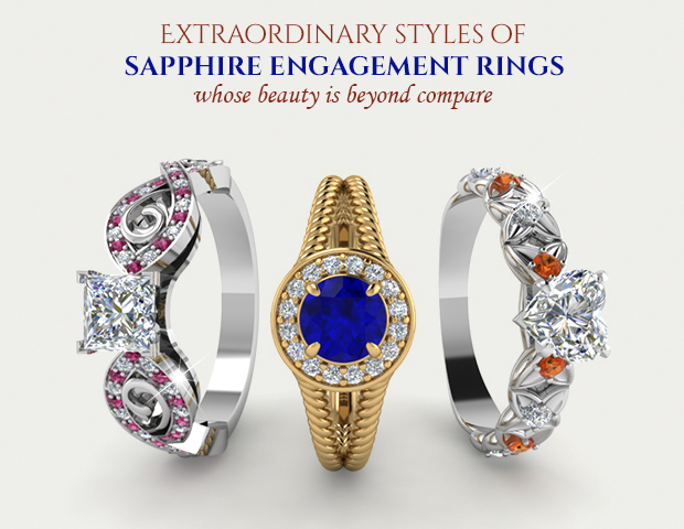 Extraordinary Sapphire Engagement Rings