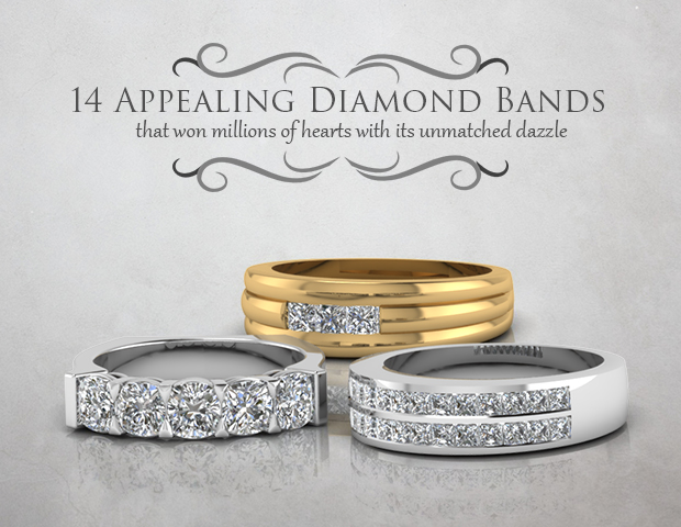 14 Appealing Diamond Bands That Won Millions Of Hearts.