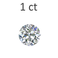 1 Carat Round Cut Diamond