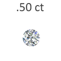 .50 Carat Round Cut Diamond