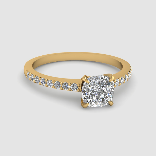 Delicate Diamond Rings