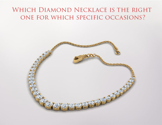 Which luxurious diamond necklace will bring out your grace and beauty