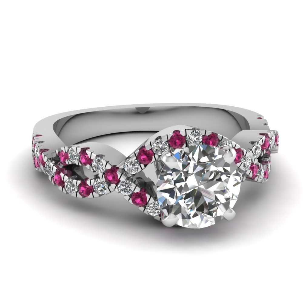 beautiful infinity engagement rings fascinating diamonds. Black Bedroom Furniture Sets. Home Design Ideas