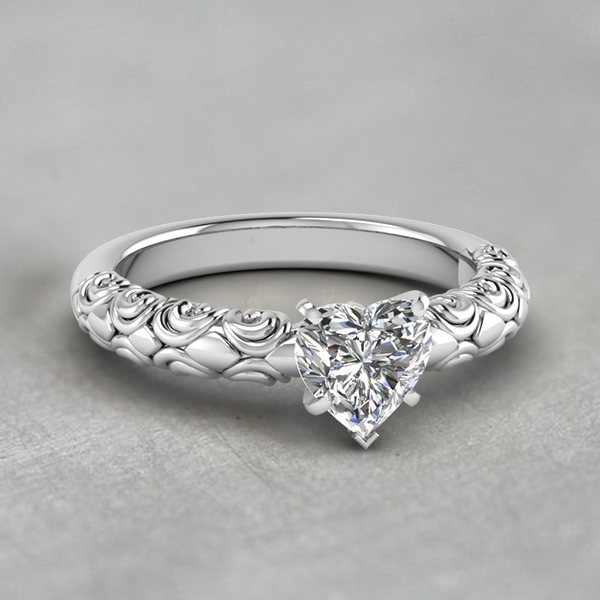 One Stone Engagement Rings