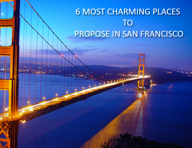 6 Most Charming Places to Propose in San Francisco