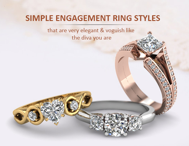 16 Simple Engagement Rings Style
