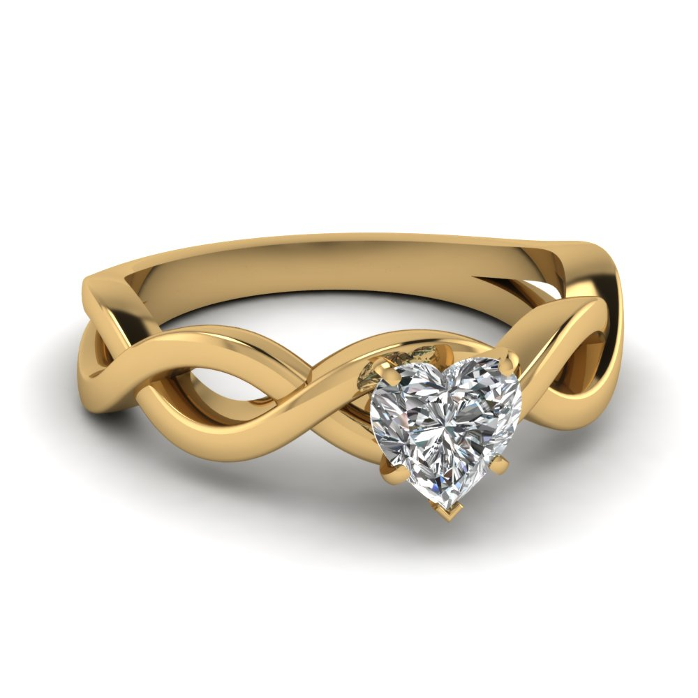 Shop For Latest Twist Amp Swirl Engagement Rings At